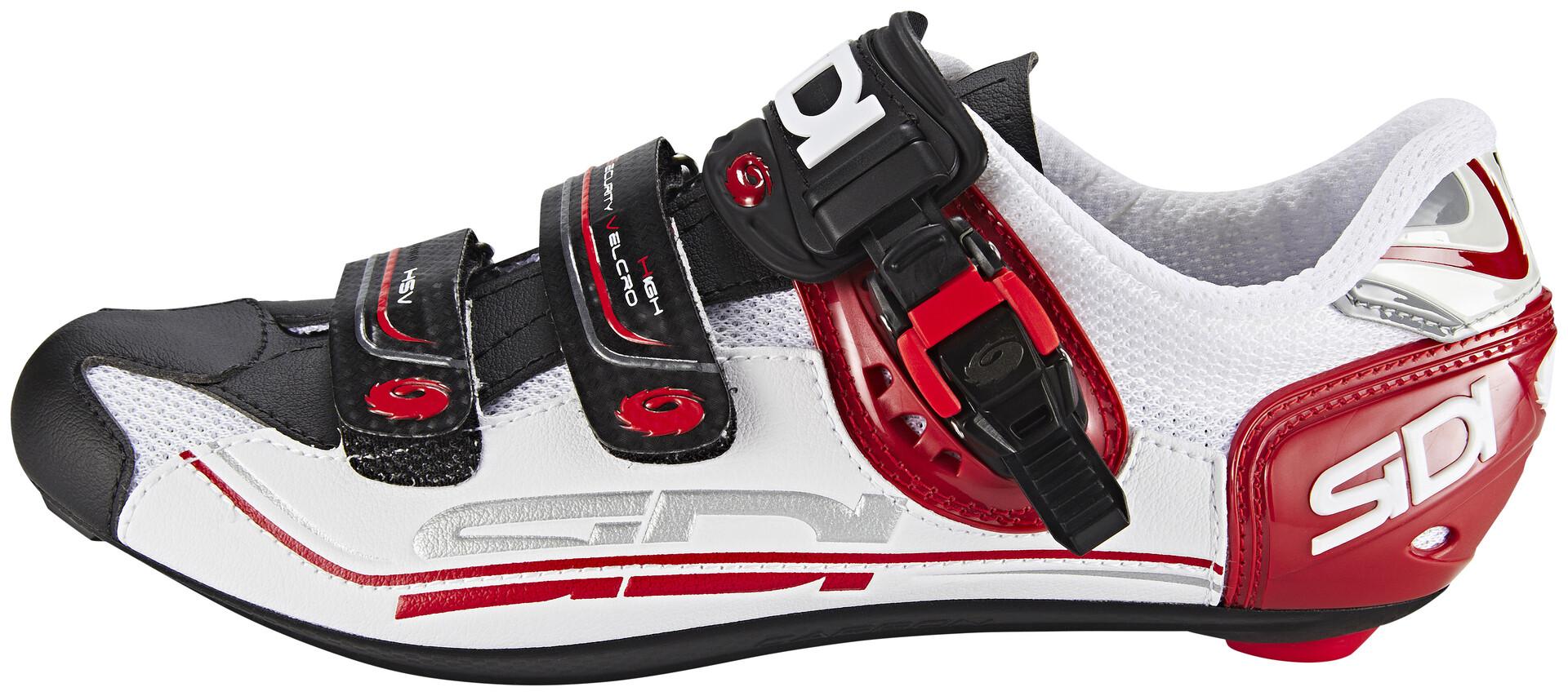 Sidi Genius 7 Chaussures Homme, whiteblackred Boutique